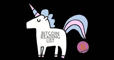 Bitcoin books and reading list.